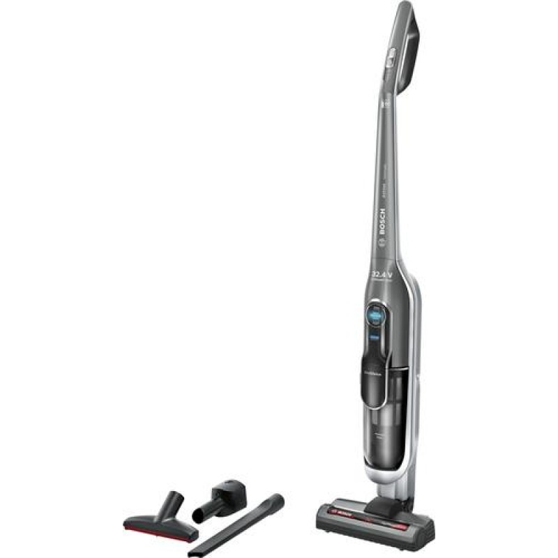 Bosch BBH7SIL stick vacuum/electric broom Bagless Black, Gray