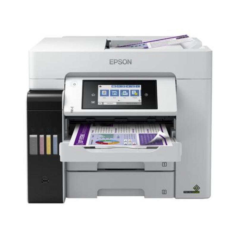 Epson EcoTank ET-5880 Inkjet 4800 x 2400 DPI 25 ppm A4 Wi-Fi Black,White