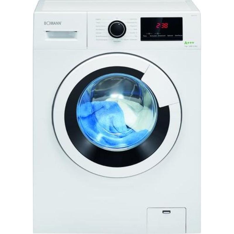 Bomann WA 7170 washing machine Freestanding Front-load White 7 kg 1400 RPM A+++
