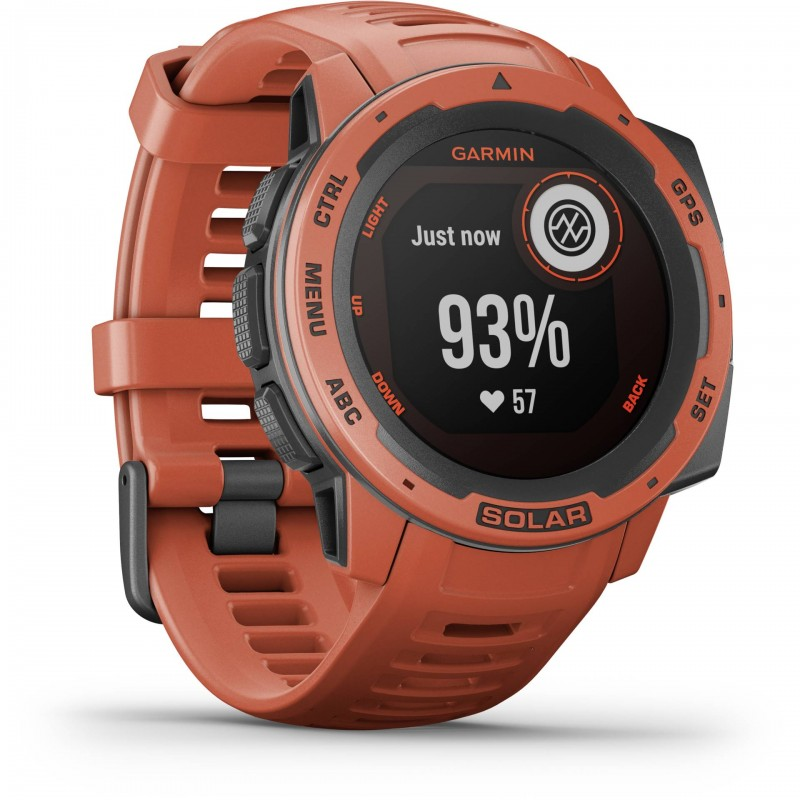 Garmin Instinct Solar MIP Red GPS (satellite)