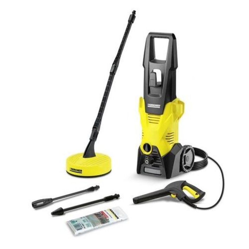 Kärcher K 3 HOME T50 long pressure washer Upright Electric Black,Yellow 380 l/h 1600 W
