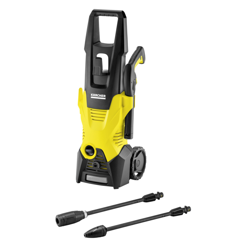 Kärcher K 3 pressure washer Compact Electric Black,Yellow 380 l/h 1600 W