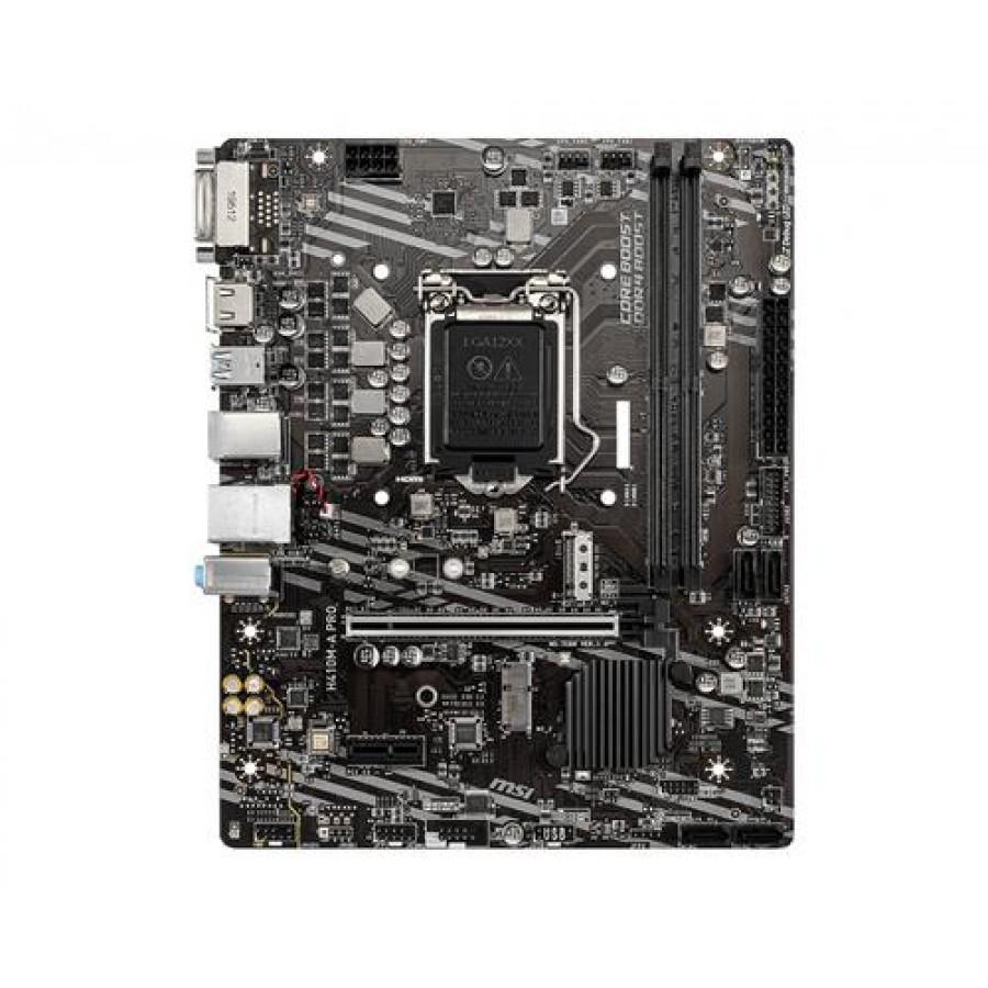 MSI H410M-A PRO LGA 1200 micro ATX Intel H410