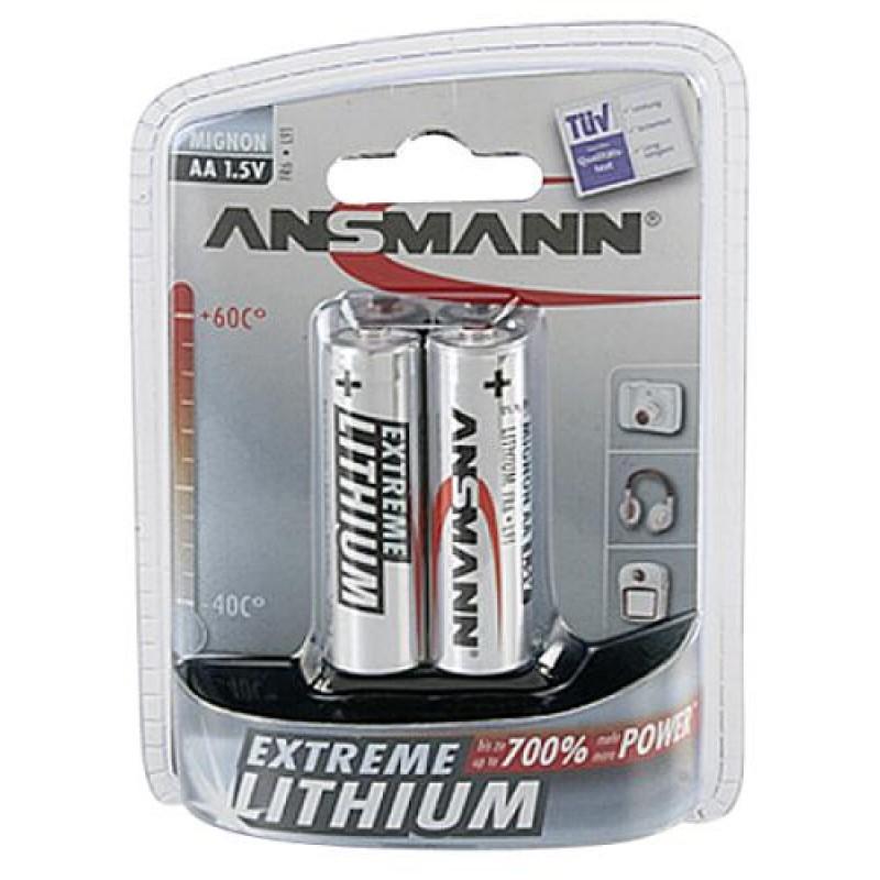 Ansmann Mignon AA/FR6 Single-use battery Alkaline Silver