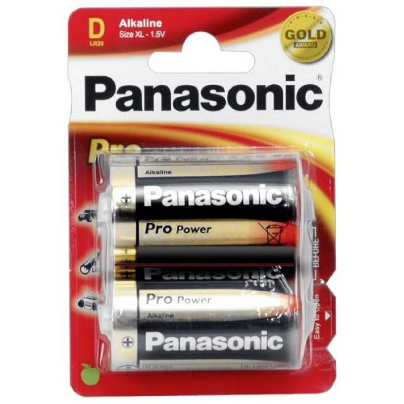 1x2 Panasonic Pro Power Mono D LR 20