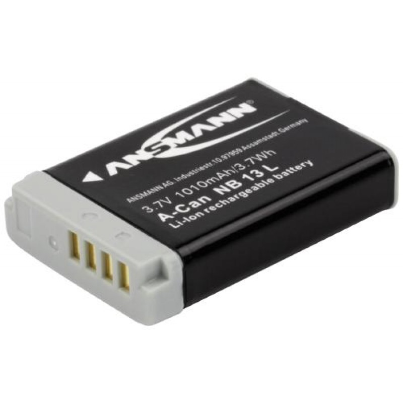 Ansmann 1400-0069 camera/camcorder battery Lithium-Ion (Li-Ion) 1010 mAh Black,Grey