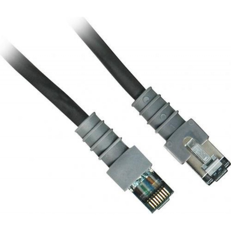PatchSee Cat6 FTP 0.6m networking cable Black