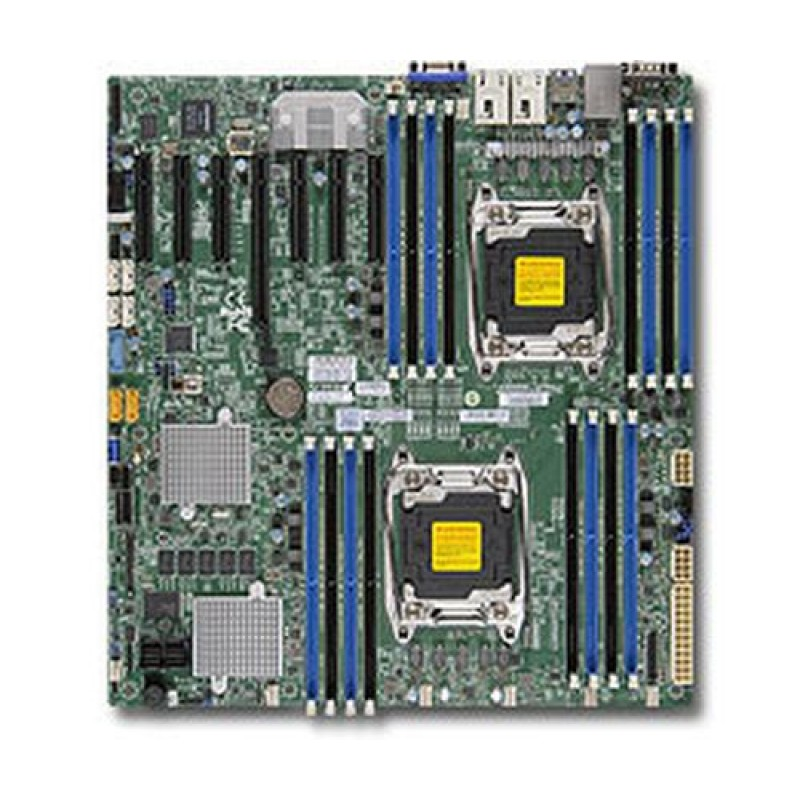 Supermicro MBD-X10DRH-CT-O server/workstation motherboard LGA 2011 (Socket R) ATX Intel® C612