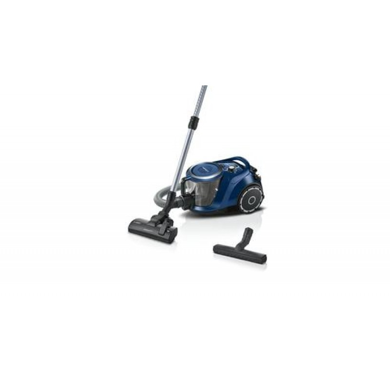 Bosch Serie 6 BGC41X36 vacuum 700 W Cylinder vacuum Dry Bagless Black,Blue