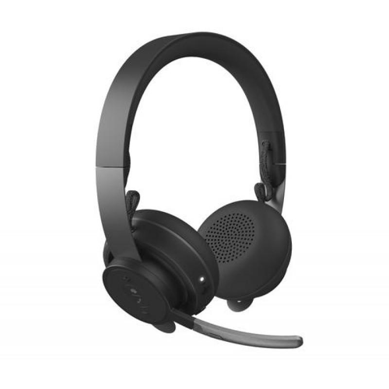 Logitech MSFT Teams Zone Wireless Headset Head-band Graphite Bluetooth