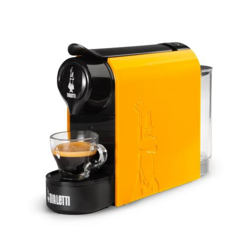 Bialetti Gioia Espresso machine 0.5 L Manual Black, Yellow