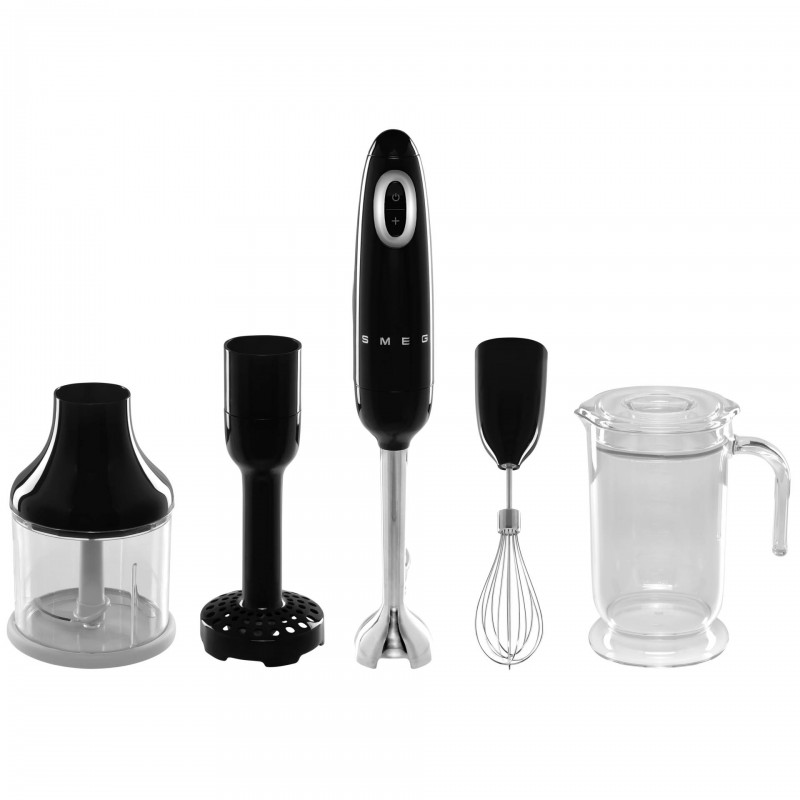 Smeg HBF02BLEU blender Immersion blender Black 700 W