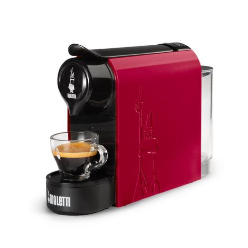 Bialetti Gioia Fully-auto Espresso machine 0.5 L Black, Red