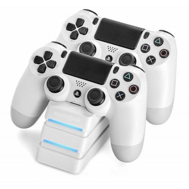 FLASHPOINT 600786 Gaming Controller White Gamepad Analogue / Digital PlayStation 4