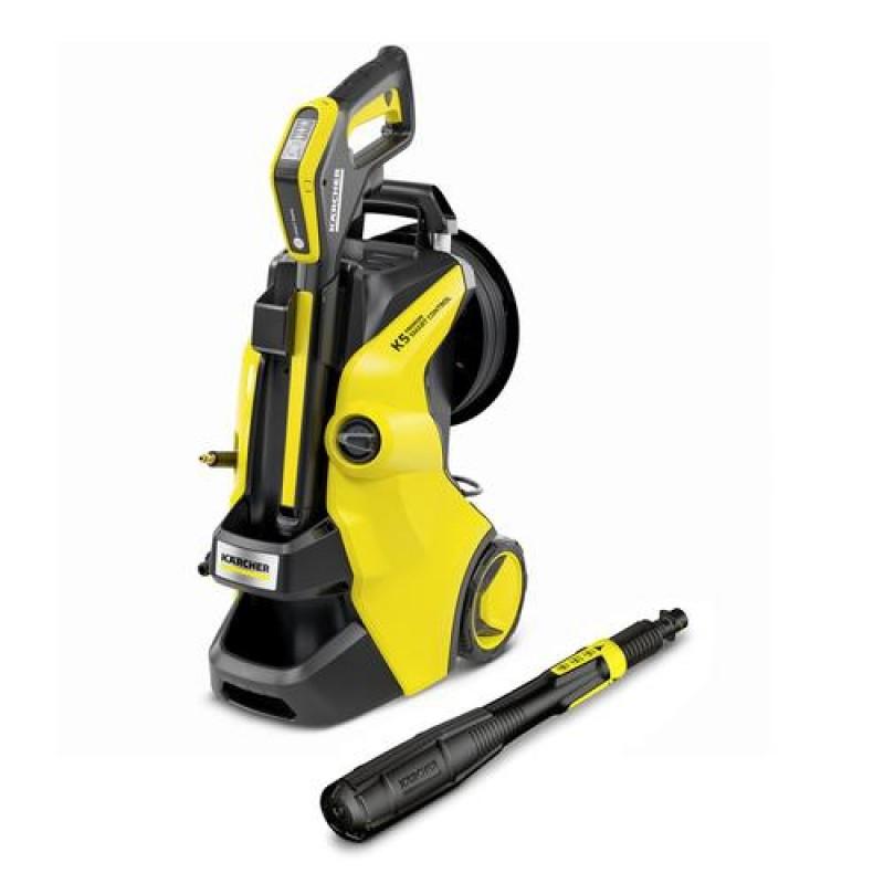 Kärcher K 5 PREMIUM SMART CONTROL pressure washer Upright Electric 500 l/h Black, Yellow