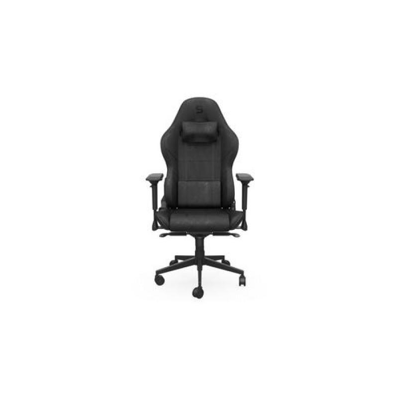 SPC Gear SR600 BK Gaming armchair Padded seat Black
