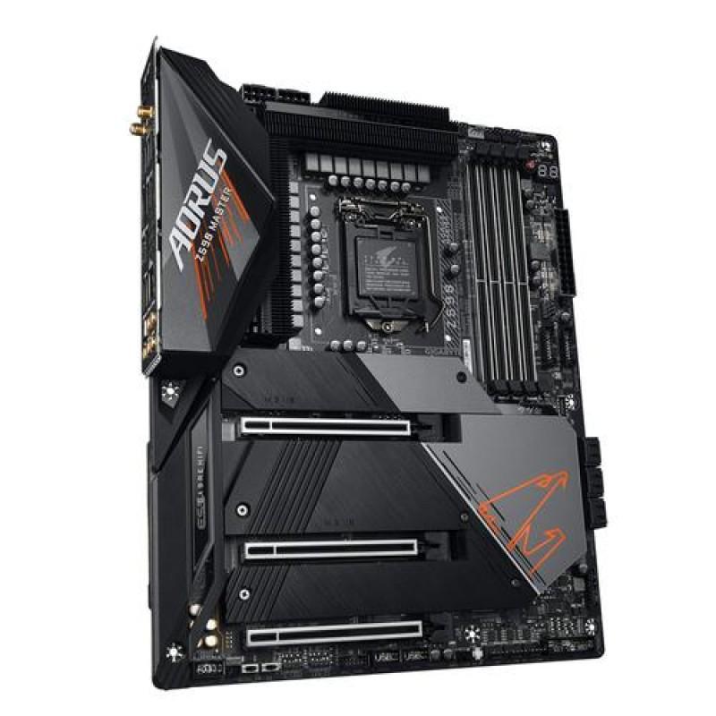 Gigabyte Z590 AORUS MASTER motherboard Intel Z590 Express LGA 1200 ATX