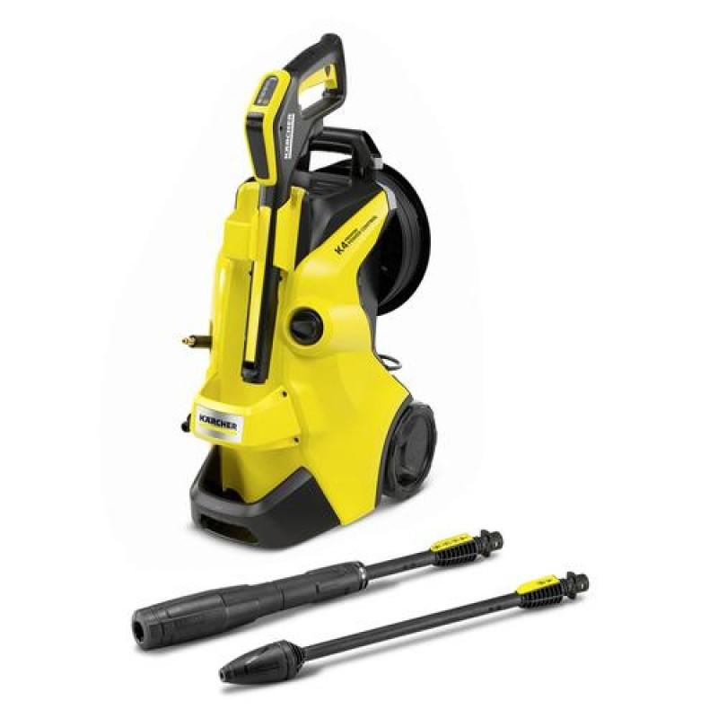 Kärcher K 4 PREMIUM POWER CONTROL pressure washer Upright Electric 420 l/h Black, Yellow