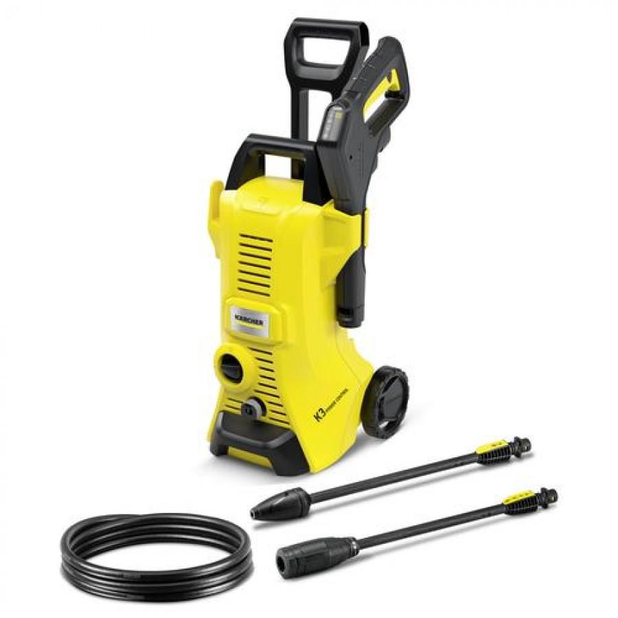 Kärcher K 3 POWER CONTROL pressure washer Upright Electric 380 l/h Black, Yellow