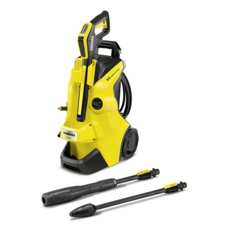 Kärcher K 4 POWER CONTROL pressure washer Upright Electric 420 l/h Black, Yellow