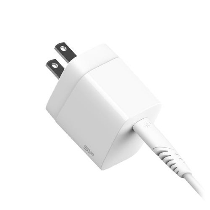 Silicon Power SP18WASYQM10L0CW mobile device charger White Indoor