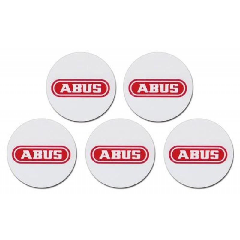 ABUS Proximity Chip Sticker, 5pcs. Set Smartvest/Terxon SX (Art. no. AZ5502) Red, White