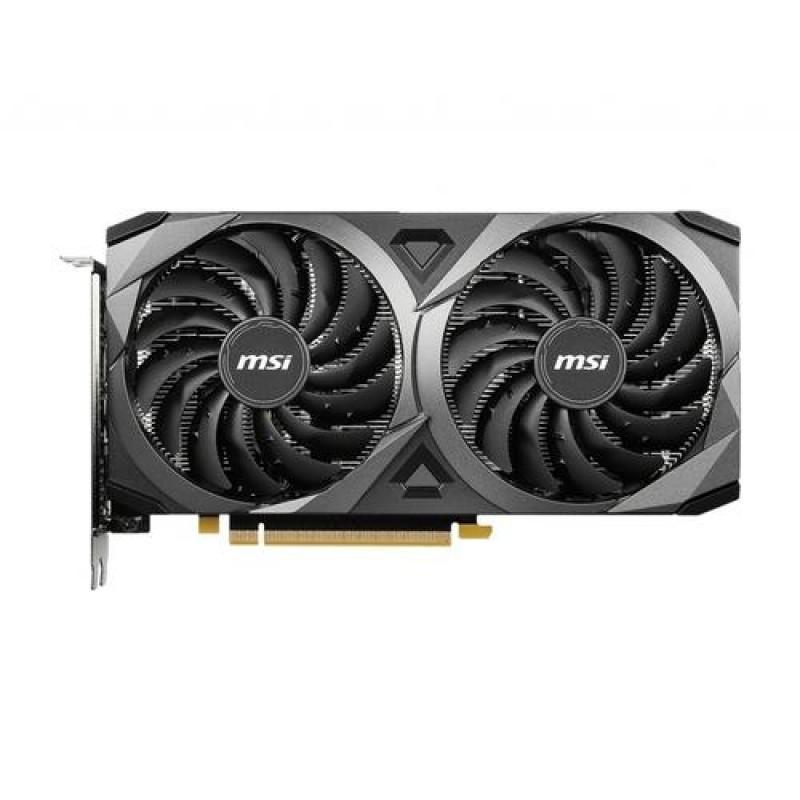 MSI GeForce RTX 3060 VENTUS 2X 12G OC NVIDIA 12 GB GDDR6 Black