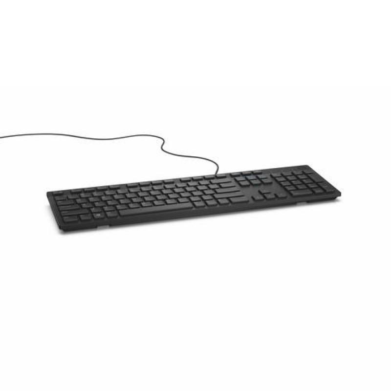 DELL KB216 keyboard USB QWERTZ German Black