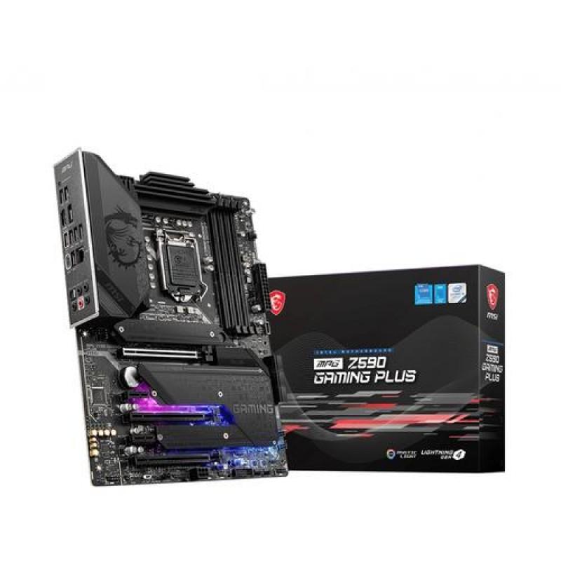 MSI MPG Z590 GAMING PLUS motherboard Intel Z590 LGA 1200 ATX