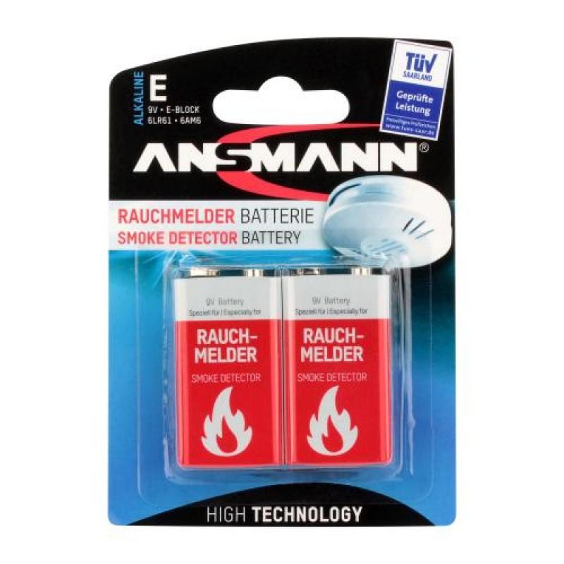 Ansmann 1515-0006 household battery Rechargeable battery Alkaline Red