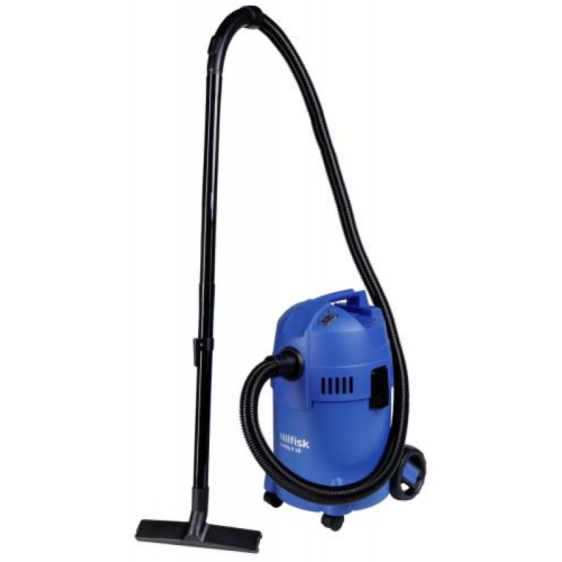 Nilfisk Buddy II 18 1200 W Drum vacuum Dry&Wet Dust bag 18 L Black,Blue