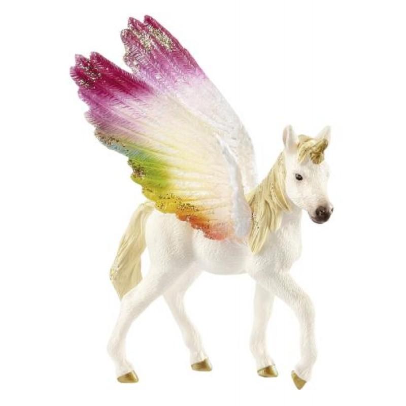 Schleich bayala            70577 Winged Rainbow Unicorn Foal