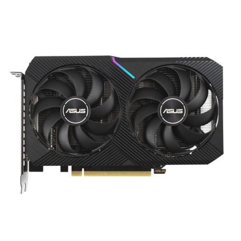ASUS Dual -RTX3060-O12G-V2 NVIDIA GeForce RTX 3060 12 GB GDDR6 Black