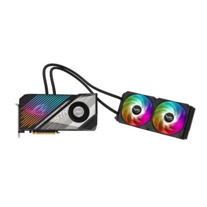 ASUS ROG -STRIX-LC-RX6900XT-T16G-GAMING AMD Radeon RX 6900 XT 16 GB GDDR6 Black, Silver