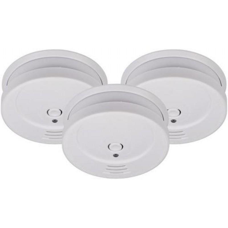 Brennenstuhl 1290080003 smoke detector Wireless White