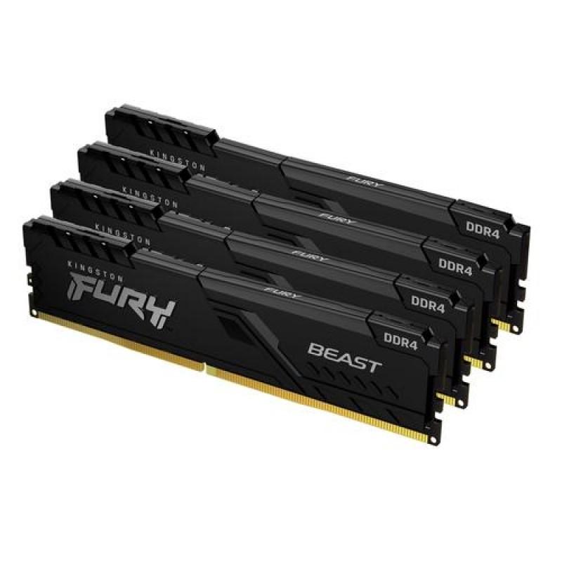 HyperX FURY Beast memory module 64 GB 4 x 16 GB DDR4 3200 MHz
