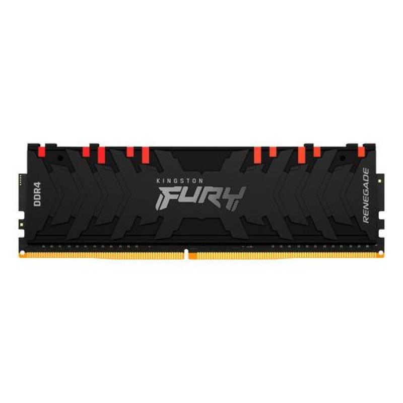 Kingston Technology FURY Renegade RGB memory module 8 GB 1 x 8 GB DDR4 3000 MHz Black