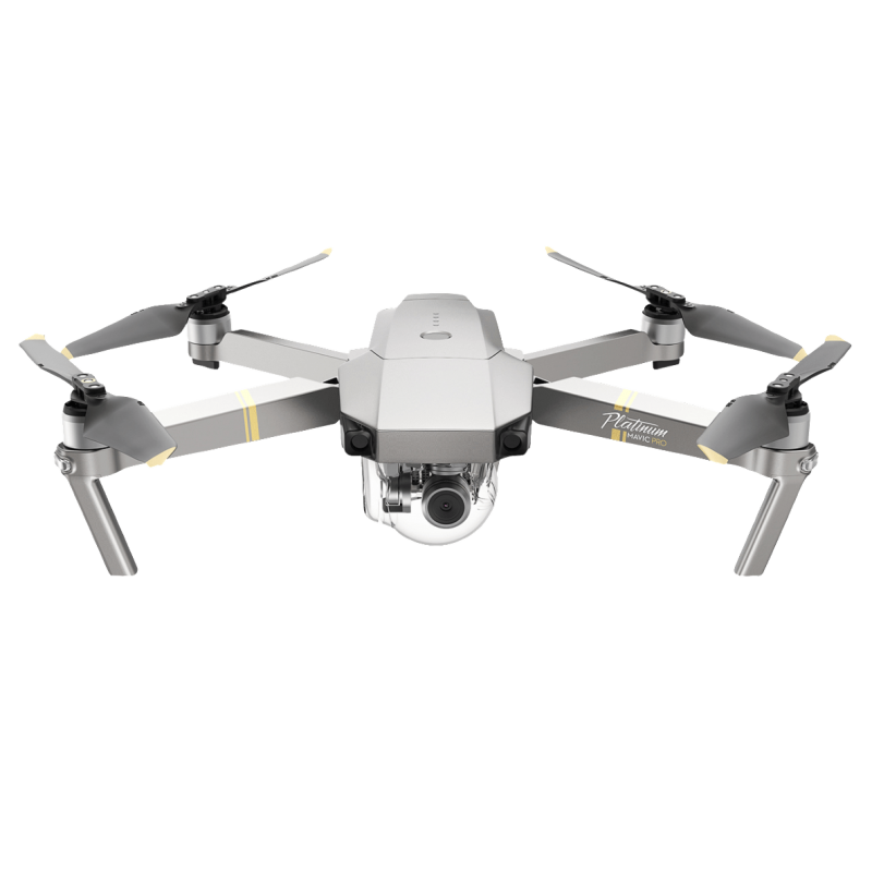 DJI Mavic Pro Platinum incl. Additional Intelligent Flight Battery